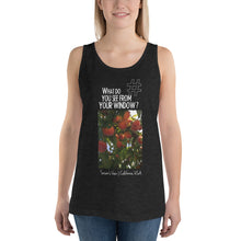 Load image into Gallery viewer, Susan's View | California, USA | Unisex Tank Top