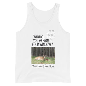 Maria's View | Texas, USA | Unisex Tank Top