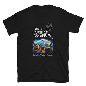 Catalin's Window | Romania | Unisex T-shirt