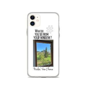 Nicolas' View | France | iPhone Case