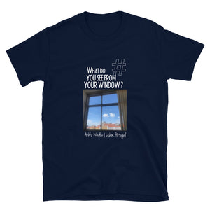 Arik's Window | Lisbon, Portugal | Unisex T-shirt
