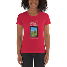 Load image into Gallery viewer, Nicolas' View | France | Women's T-shirt