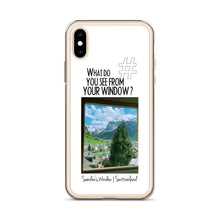 Load image into Gallery viewer, Sandra's Window | Switzerland | iPhone Case