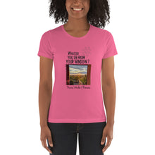 Load image into Gallery viewer, Marius' Window | Romania | Women's T-shirt