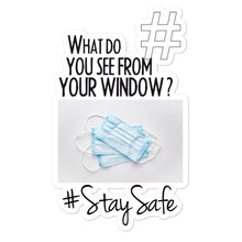 Load image into Gallery viewer, #StaySafe | Kiss Cut Sticker