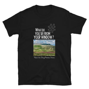 Raluca's View | Bucegi Mountains, Romania | Unisex T-shirt