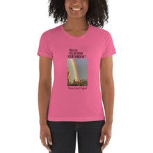 Load image into Gallery viewer, Patricia's View | England | Women's T-shirt