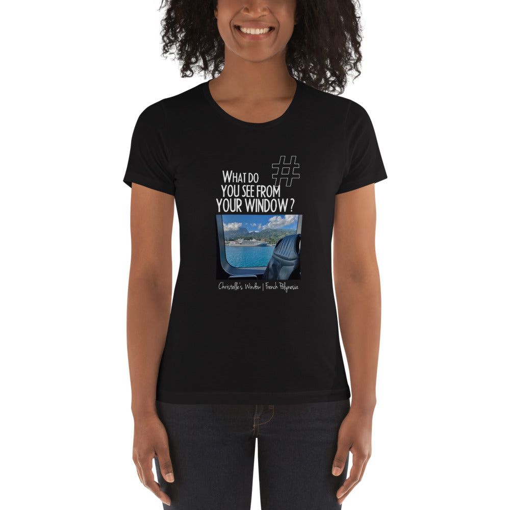 Christelle's Window | French Polynesia | Women's T-shirt