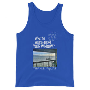 Robbie's Window | Oregon, USA | Unisex Tank Top