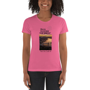 Debra's View | London, UK | Women's T-shirt