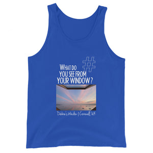 Debbie's Window | Cornwall, UK | Unisex Tank Top