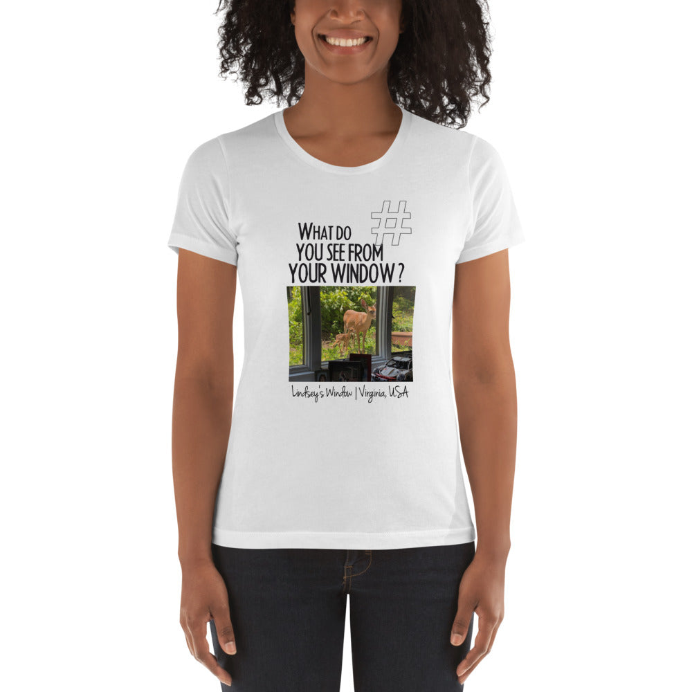 Lindsey's Window | Virginia, USA | Women's T-shirt