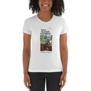 Anne's Window | Chicago, USA | Women's T-shirt