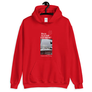 Cristina's Window | Norway | Unisex Hoodie