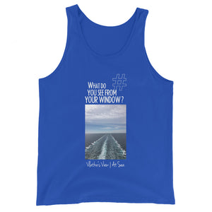 Vlatka's View | At Sea | Unisex Tank Top