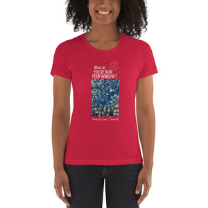 Annette's View | Denmark |  Women's T-shirt