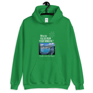 Christelle's Window | French Polynesia | Unisex Hoodie