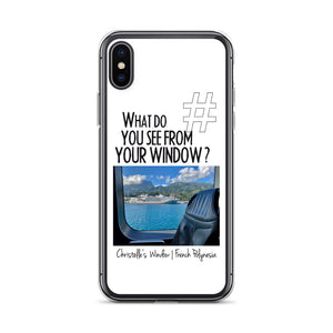Christelle's Window | French Polynesia | iPhone Case