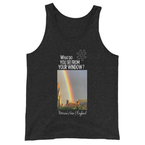 Patricia's View | England | Unisex Tank Top