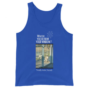 Michelle's Window | Australia | Unisex Tank Top