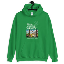 Load image into Gallery viewer, Florentina's Window | Romania | Unisex Hoodie