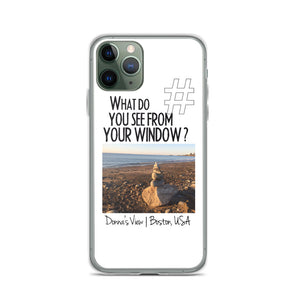 Donna's View | Boston, USA | iPhone Case