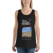 Load image into Gallery viewer, Norma's Window | New Mexico, USA | Unisex Tank Top