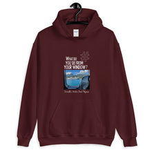 Load image into Gallery viewer, Christelle's Window | French Polynesia | Unisex Hoodie