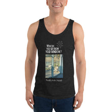 Load image into Gallery viewer, Michelle's Window | Australia | Unisex Tank Top