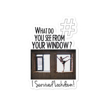 Load image into Gallery viewer, I Survived Lockdown! | Kiss Cut Sticker