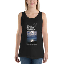 Load image into Gallery viewer, Biliana's View | Lake Como, Italy | Unisex Tank Top