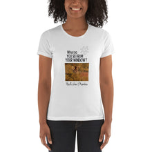 Load image into Gallery viewer, Heidi's View | Namibia | Women's T-shirt