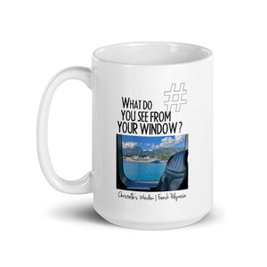 Christelle's Window | French Polynesia | Mug