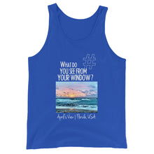 Load image into Gallery viewer, April's View | Florida, USA | Unisex Tank Top