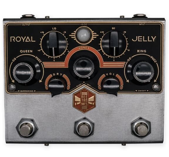 Beetronics Royal Jelly Dual Overdrive/Fuzz Machine