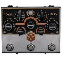Load image into Gallery viewer, Beetronics Royal Jelly Dual Overdrive/Fuzz Machine