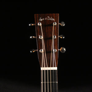 Huss and Dalton T-0014 Custom (Avodire/Sitka Spruce) - Express Shipping - (HD-011) Serial: 4778 - PLEK'd