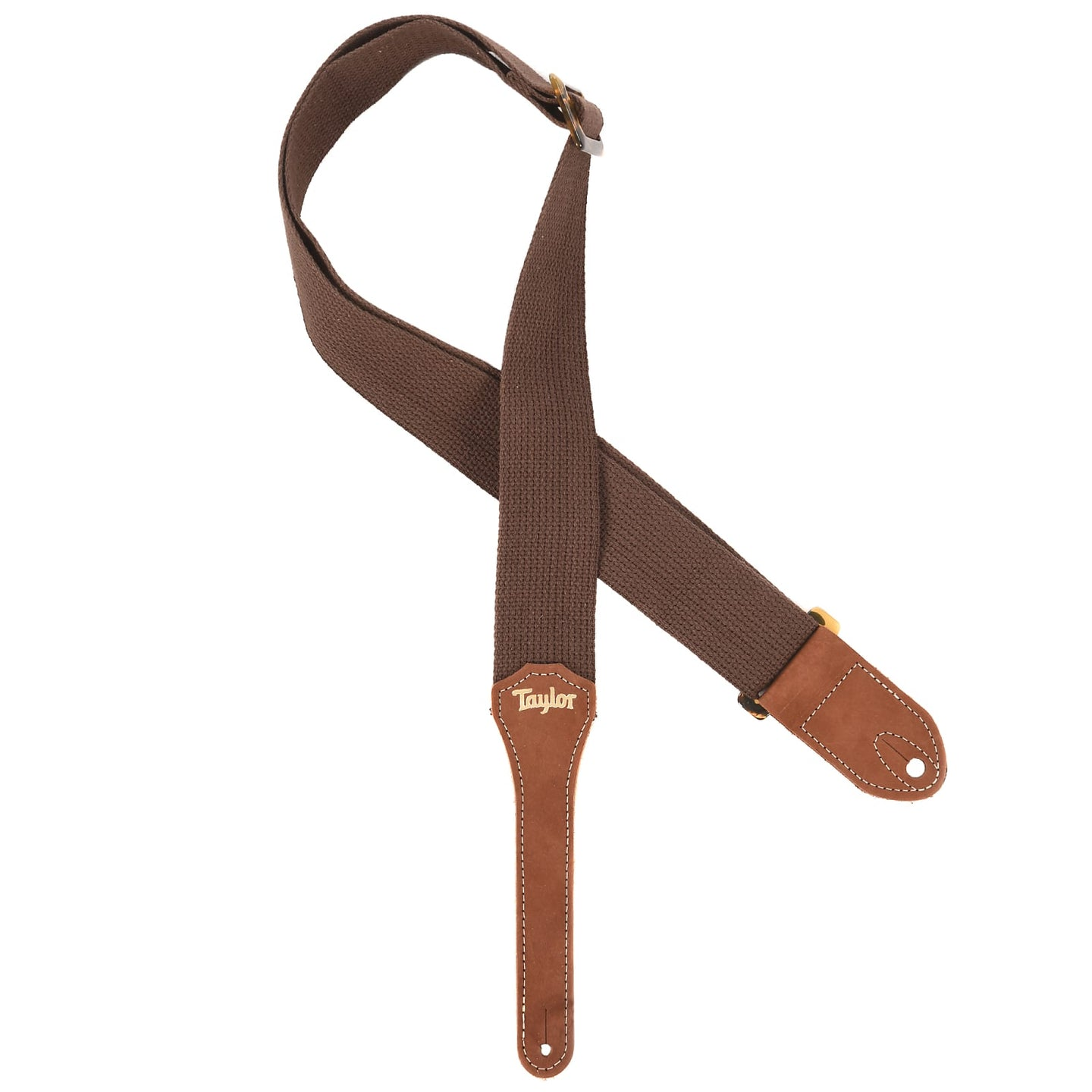 Taylor Strap, Chocolate Brown Cotton, 2