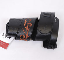 Load image into Gallery viewer, Taylor Nouveau Strap, Black Leather, 2.5""