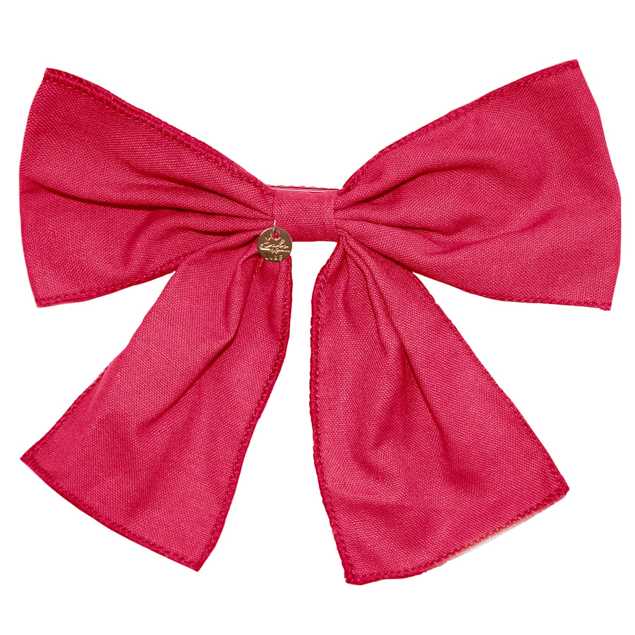 Ever After Bow Clip Magenta