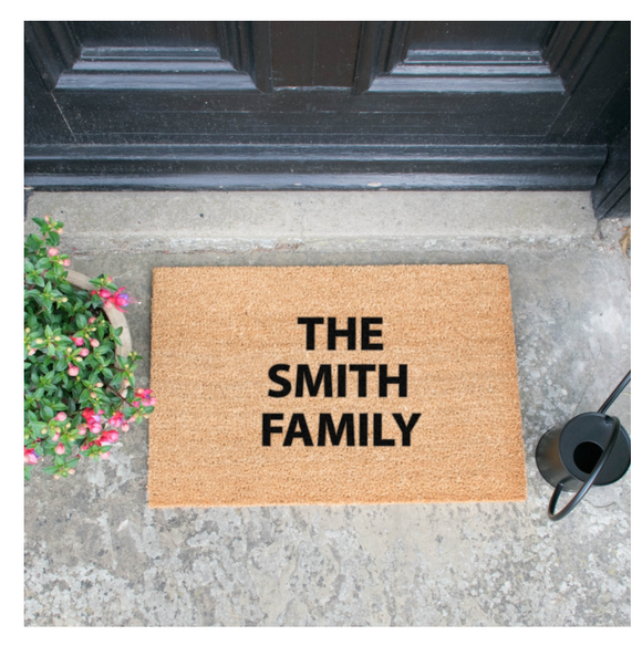 Custom Doormats Mats Brown Entrance Mats Door Mats, Hall Mats, Personalise yours!