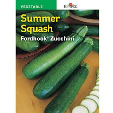 SEED - ZUCCHINI FORDHOOK (SUMMER SQUASH) - Springbank Greenhouses