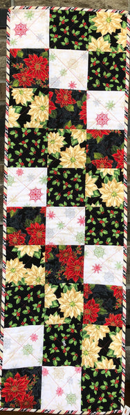 CHRISTMAS CHARM RED - runner kit