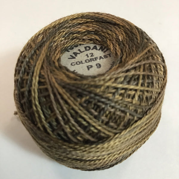VALDANI (P-9) 100M - pearl cotton thread Size 12