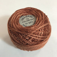 VALDANI (H-201) 100M - pearl cotton thread Size 12