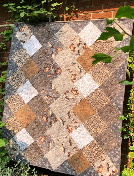 LAP QUILT FLANNEL - north ridge