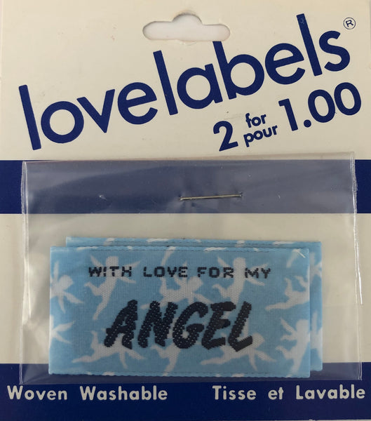 HAKID MADE BY LABELS - with love for my angel (2 in pack)