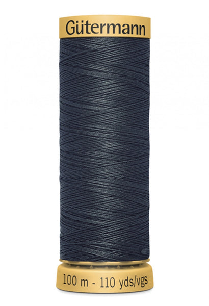 GUTERMANN 100m - 9800  -100% Mercerized Cotton (dark charcoal)