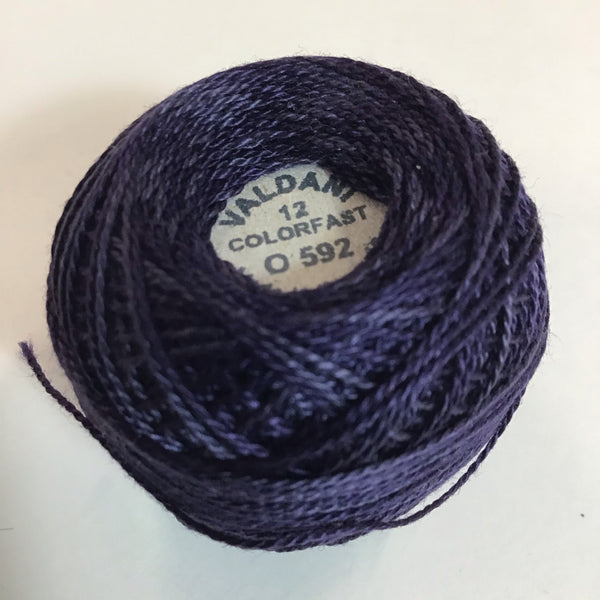 VALDANI (O-592) 100M - pearl cotton thread Size 12
