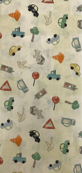 ROAD TRIP (Y1871-58) - fabric price per 1/4 meter